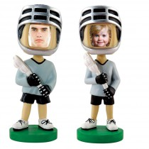 Lacrosse Photo Bobble Heads