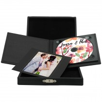 Deluxe DVD/CD Folio with Leatherette Box
