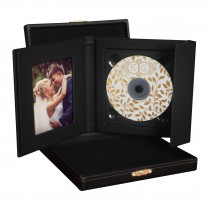 Supreme CD/DVD Folio with Leatherette Box