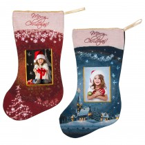 Light Up Christmas Stockings with Photo