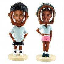 wholesale black photo bobble heads for professional photographers