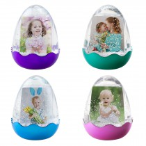 wholesale plastic Easter egg photo snow globe for Easter bunny portrait professional photographers