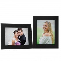 Black Cardboard Wholesale Photo Folder with Easel Backing