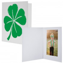 St. Patrick's Day Four Leaf Clover Wholesale Photo Folders Mounts