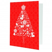wholesale Christmas tree photo folders for 4x7 and 5x7 photos for professional photographers