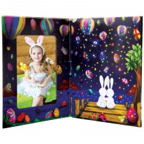 Easter Fiber Optic Photo Folio