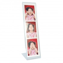 Wholesale Photo Strip Acrylic Bent Easel Frame for Photo Booth photos
