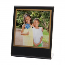 wholesale black polaroid picture frame bent easel bulk