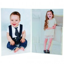 wholesale double 5x7 acrylic picture frame for professional special event photographers