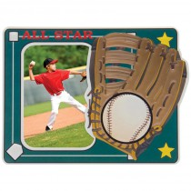 Baseball All Star Puff Frame