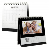 wholesale picture frame desktop photo monthly calendar