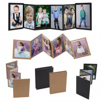 Wholesale DIY Self-Stick Mini Accordion Photo Albums