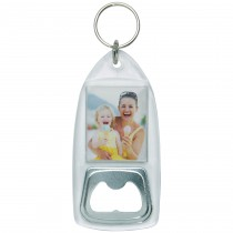 Wholesale Plastic DIY Photo Keytag Bottle Opener
