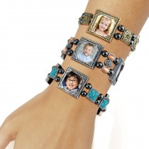 wholesale photo charm bracelets bulk picture diy