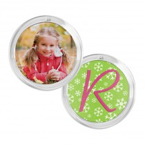 wholesale round circle plastic acrylic snapins ornament disc