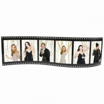 Small Horizontal Filmstrip Picture Frame (6 photos)