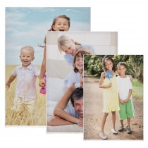 Magnetic Acrylic Fold-Over Picture Frames