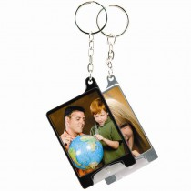 Mini Flashlight Photo Keychain