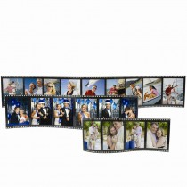 Horizontal Filmstrip Wave Picture Frames