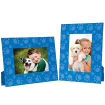 Blue Pet Paws Picture Frame