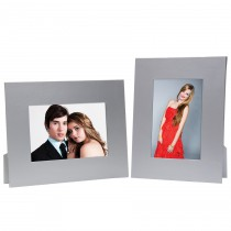 Silver Paper Picture Frame