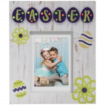 Light Up Easter Marquee Picture Frame