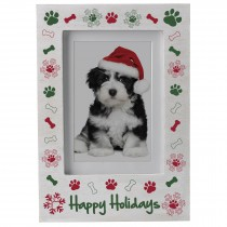 wholesale wood pet Christmas picture frame
