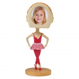 Wholesale Ballerina Photo Bobble Heads