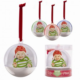 Light Up Photo Snow Globe Ornament