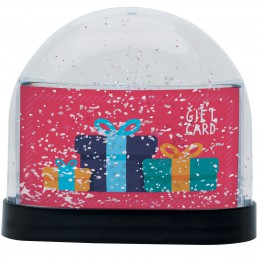 Wholesale Gift Card Snow Globe Holder