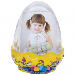 wholesale easter egg photo snow globe