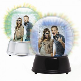 LIGHT UP Photo Snow Globe