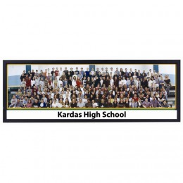 Wholesale Panoramic Picture Frames with Black Trim for class photos