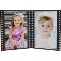 Double Side by Side Film Strip Picture Frame