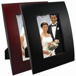 Wood Contour Picture Frames
