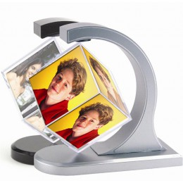 Floating Magnet Photo Cube