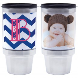 16 oz stainless steel photo tumbler
