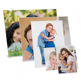 Wholesale acrylic bent easel picture frames