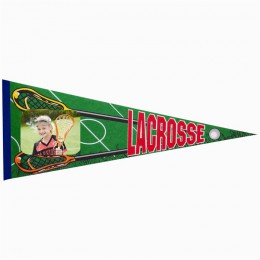 Lacrosse Photo Pennant