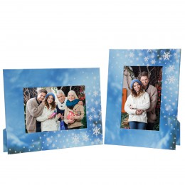 Winter Snowflake Picture Frames