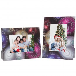 Christmas Ornaments Picture Frame